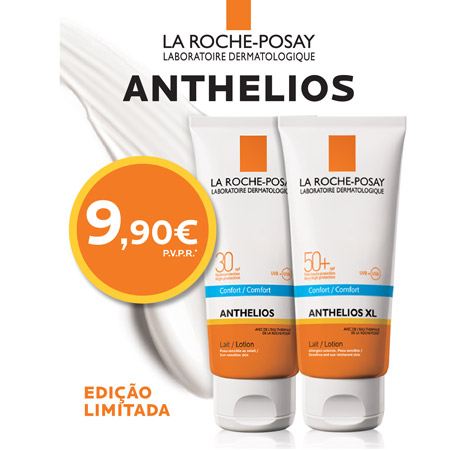 La Roche Posay Anthelios Leite FPS30+ Sem Perfume 100ml PREÇO ESPECIAL