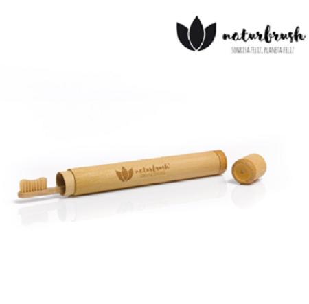 Naturbrush Estojo de Bambu para Escova de Dentes
