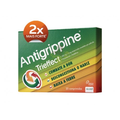 Antigrippine trieffect