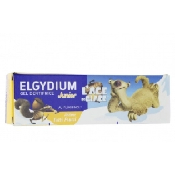 Elgydium Junior Gel Tutti Fruti Idade do Gelo 50ml
