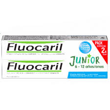 Fluocaril Junior Pasta de Dentes Bubble Duo