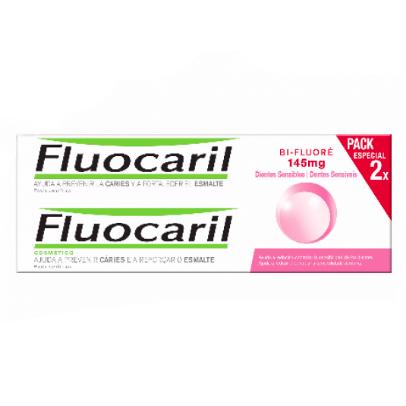 Fluocaril Pasta de Dentes Sensíveis Duo