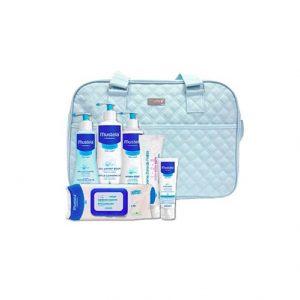 Mustela Bebe Kit Mala Maternidade Azul + OFERTA Vale de 10 EUROS