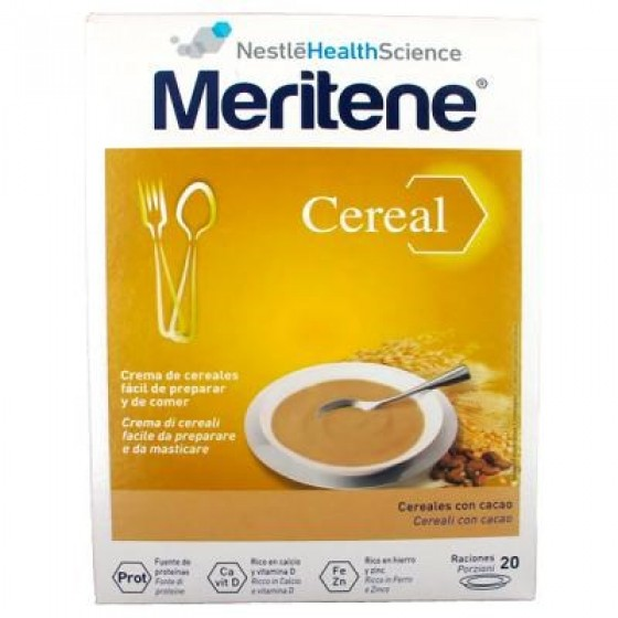 Meritene Cereal Instant 8 Cereais e Mel 300g X2