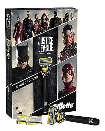 Gillette Pack Proshield Justice League