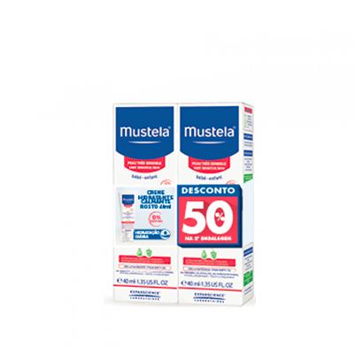 Mustela Creme Hidratante Calmante Rosto c/ Desconto 50% 2ª Embalagem