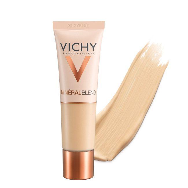 Vichy Mineralblend Fond de Teint Hidratante Fixação Fresca 16H - Tom Gypsum 03