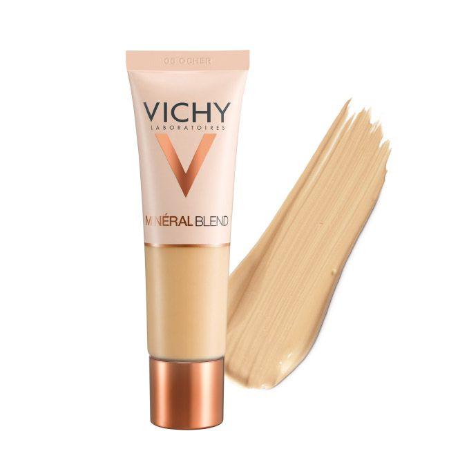 Vichy Mineralblend Fond de Teint Hidratante Fixação Fresca 16H - Tom Ocher 06