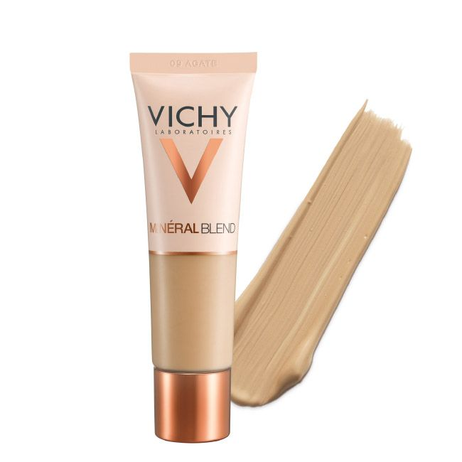 Vichy Mineralblend Fond de Teint Hidratante Fixação Fresca 16H - Tom Agate 09