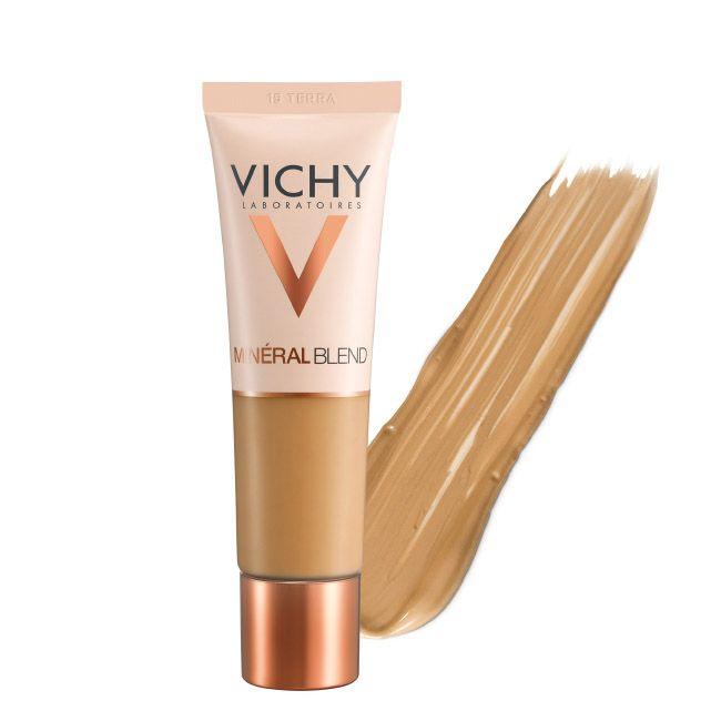 Vichy Mineralblend Fond de Teint Hidratante Fixação Fresca 16H - Tom Terra 15