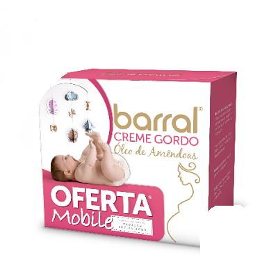 Barral Creme Gordo Óleo de Amêndoas 200ml com OFERTA Mobile