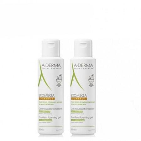 A-Derma Exomega Duo Gel Lavante 2 x 500 ml