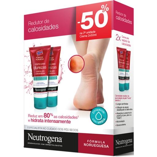 Neutrogena Creme de Pés Redutor de Calosidades + DESCONTO 50% 2ª Unidade