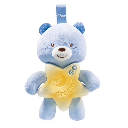 Chicco Painel Urso Boa Noite Azul