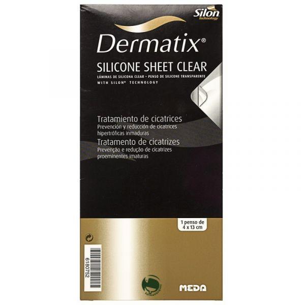Dermatix Penso Sil Transp 4x13cm