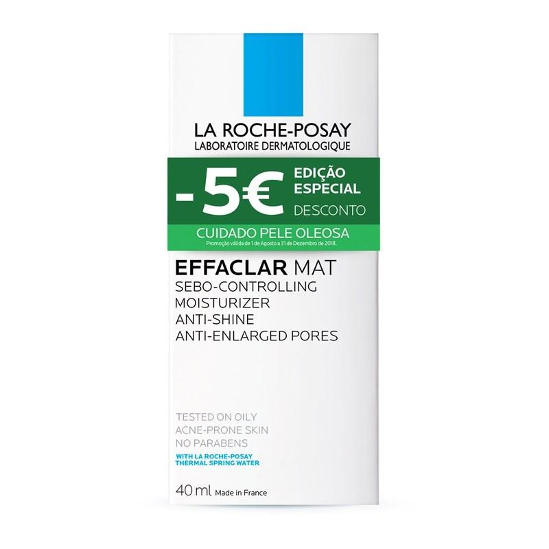 La Roche Posay Effaclar Hidratante Matificante Antibrilho 40ml +Desconto 5 Euros