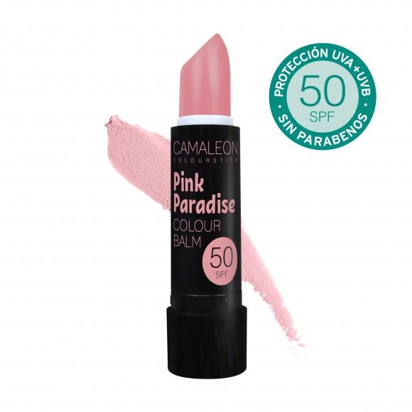 Camaleon Colour Balsamo Labial Pink Paradise SPF50 4g
