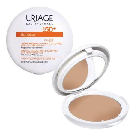 Uriage Bariesun Creme Compacto Solar Tom Dourado 10gr SPF50+