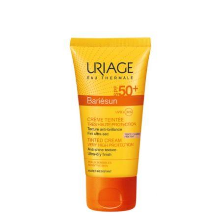 Uriage Bariesun Creme Solar de cor Tom Claro SPF50+ 50ml