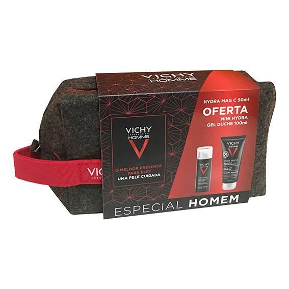 Vichy Homme Coffret Hydra Mag C+ + OFERTA Mini Gel de Duche