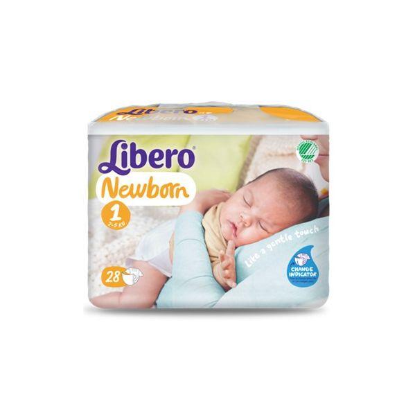 Libero Newborn 1 Frald 2-5kg X28