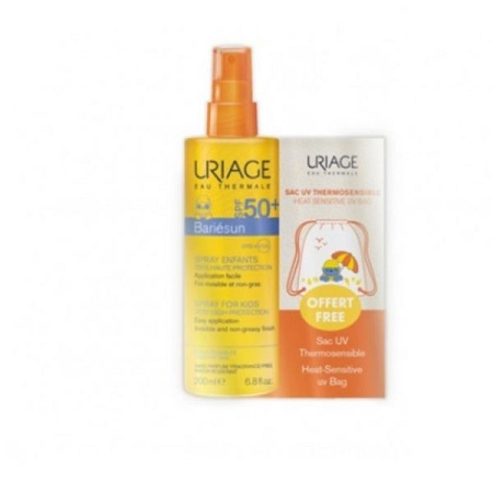 Uriage Bariésun Spray Infantil SPF50+ 200 ml + OFERTA Mochila Termossensível