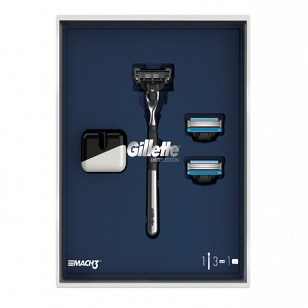 Gillette Pack Mach3 EDIÇÃO LIMITADA