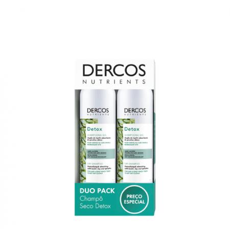 Dercos Nutrients Pack Promocional Champo Seco Detox  X2 Preço Especial