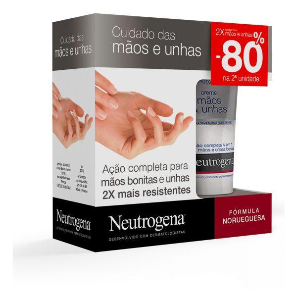 Neutrogena Duo Creme măos e unhas 2 x 75 ml com Desconto de 80% na 2Ş Unidade(s)