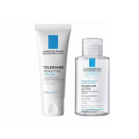 La Roche-Posay Toleriane Sensitive Creme 40 ml + OFERTA Água micelar 100 ml