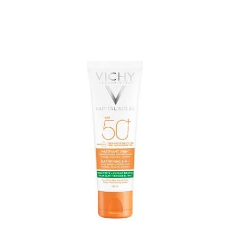 Vichy Capital Soleil Creme Matificante 3Em1 SPF50+ 50Ml