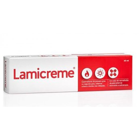 Lamicreme Cr Queimaduras 60ml