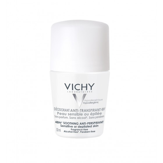 Vichy Deo Roll On Antitranspirante 48H Pele Sensível 50ml