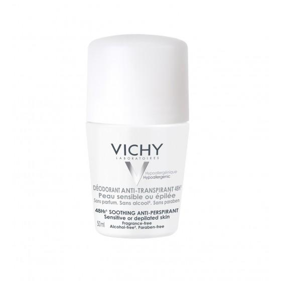 Vichy Deo Roll On Antitranspirante 48H Pele Sensível 50ml
