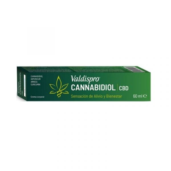 Valdispro Cannabidiol Cr Corpo 60Ml
