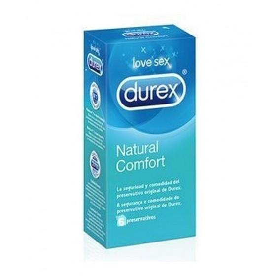 Durex Natural Plu Preservativo X  6