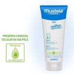 Mustela Bebé Pele Normal 2 em 1 Gel Lavante 200ml Duo