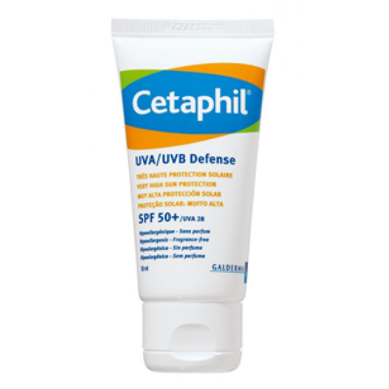 Cetaphil UVA/UVB Defense Creme Solar SPF 50+ 50ml