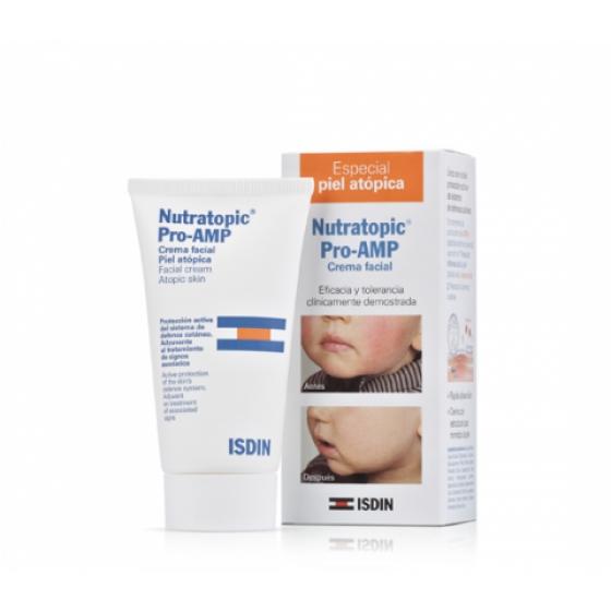 Nutratopic Pro-AMP Creme Facial Pele Atópica 50ml