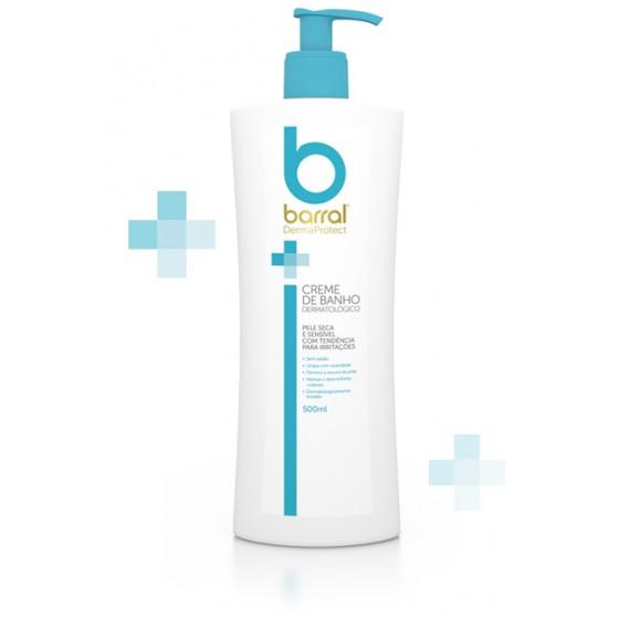 Barral Dermaprotect Creme de Banho Dermatológico 500ml
