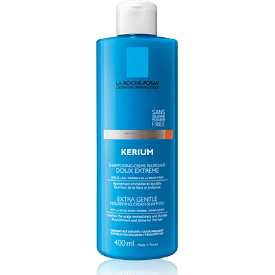 L Roche Posay Kerium Champô- Creme Suavidade Extrema 400ml