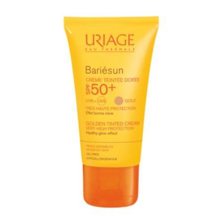 Uriage Bariesun Creme Solar de cor Tom Dourado SPF50+ 50ml