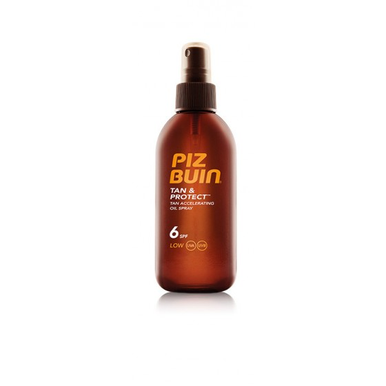 Piz Buin Tan & Protect Óleo Spray Acelerador do Bronzeado SPF6 150 ml