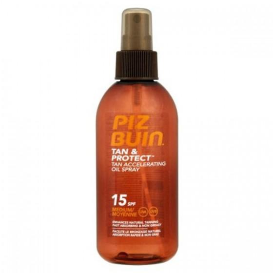 Piz Buin Tan & Protect Óleo Spray Acelerador do Bronzeado SPF 15 150 ml