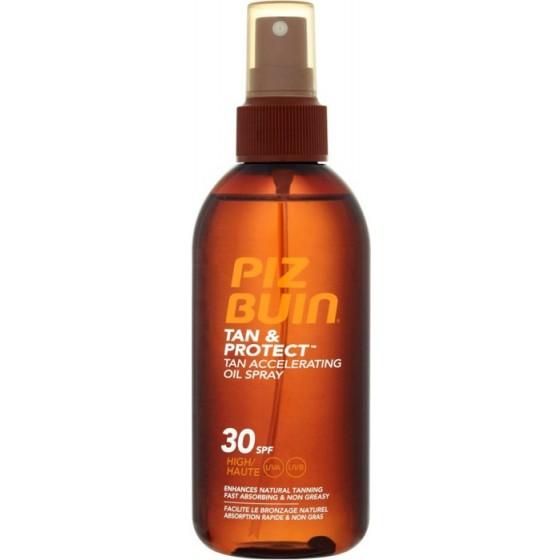 Piz Buin Tan & Protect Óleo Spray Acelerador do Bronzeado SPF 30 150 ml