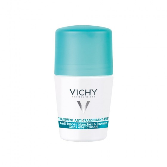 Vichy Deo Roll On Antitranspirante 48H Antimanchas 50ml