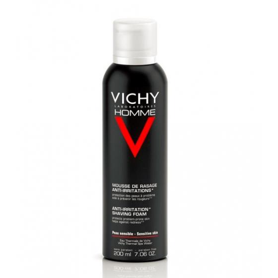 Vichy Homme Mousse de Barbear Anti-Irritações 200ml