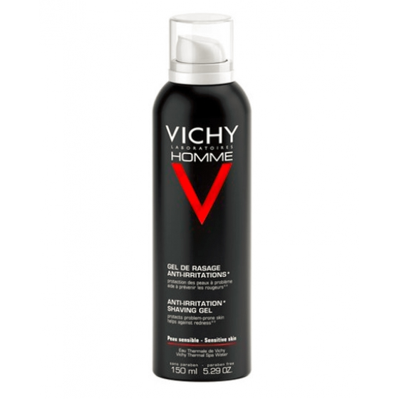 Vichy Homme Gel de Barbear Anti-Irritações 150ml