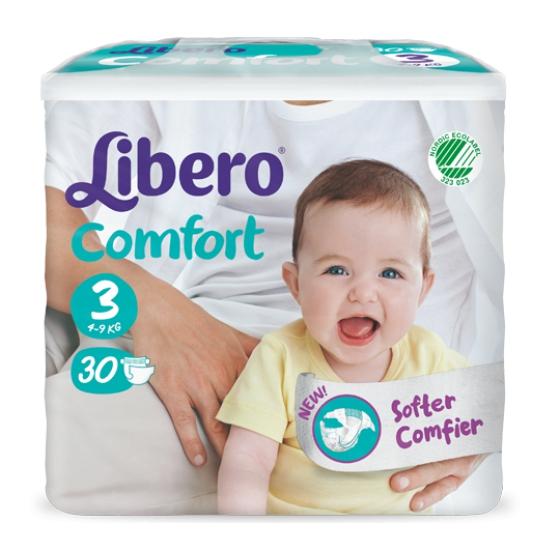 Libero Baby Comfort Fit Tam 3 (5-9 Kg) x30