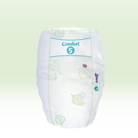 Libero Comfort Fit Tam 5 (10-16 Kg)  X24